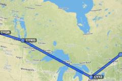 Canada 150 Route